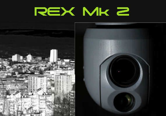 REX MK3 UAV drone security surveillance drone gimbal rex mini thermal day flir